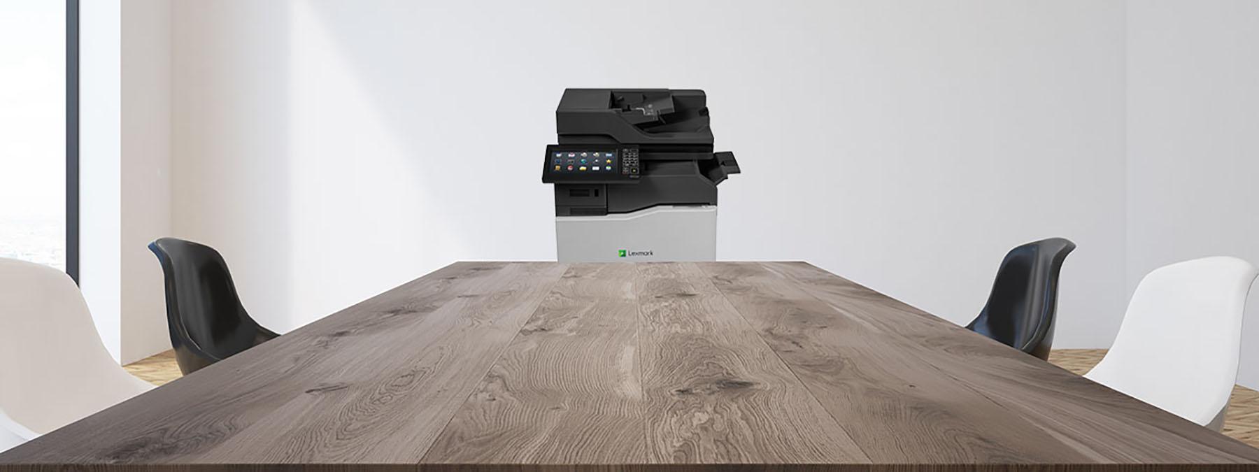 Lexmark Printer in office space